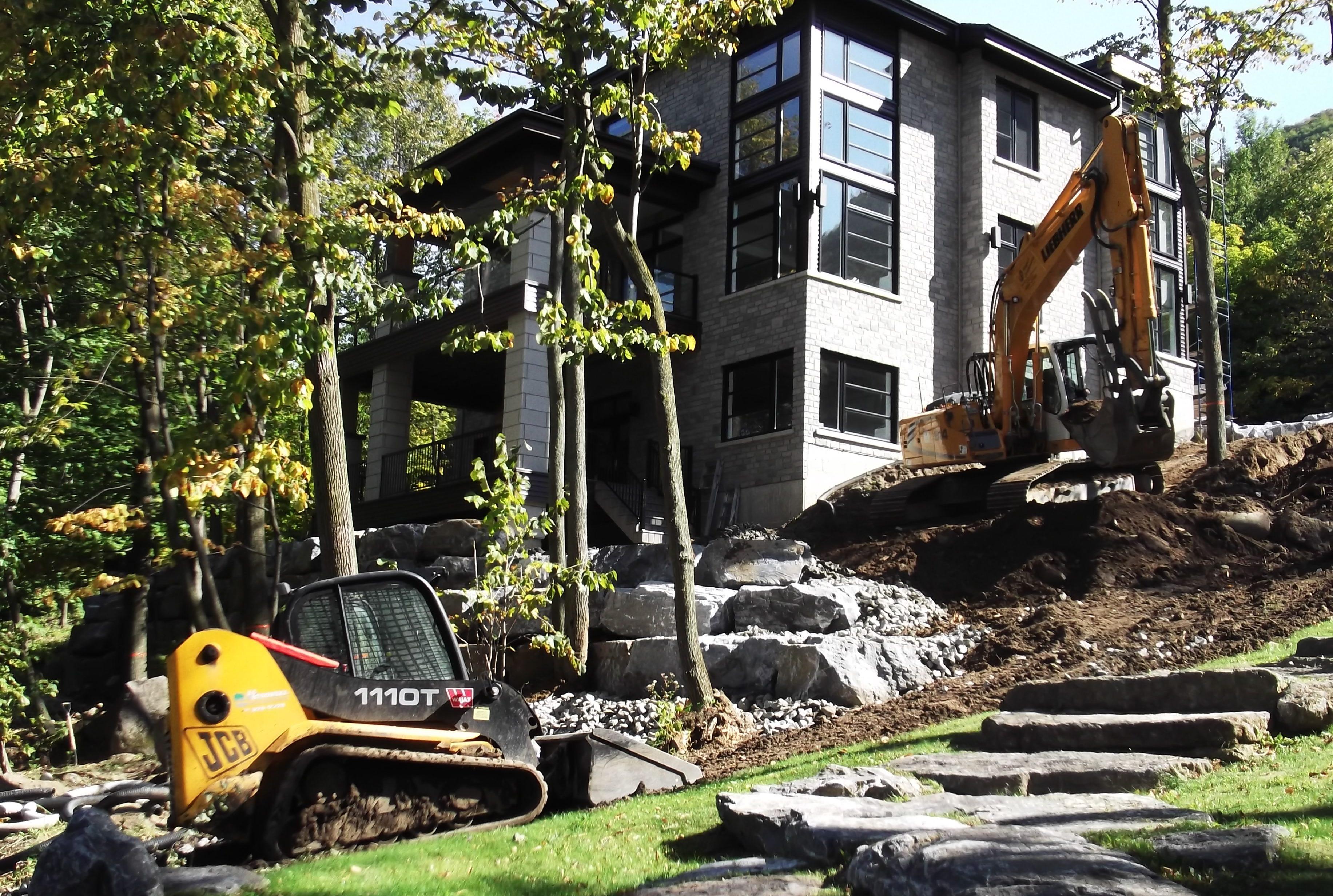 Mini excavation